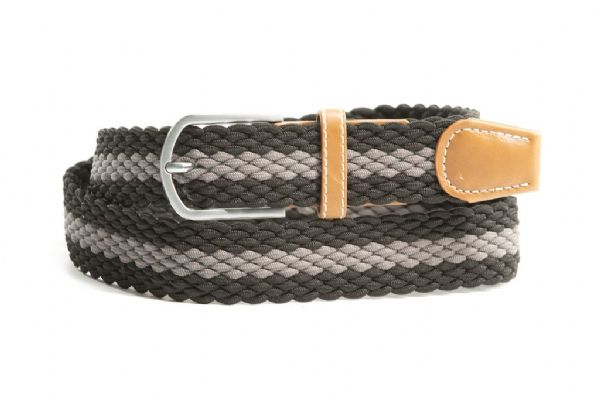 Euro-Star Platted Belt Black/Slate